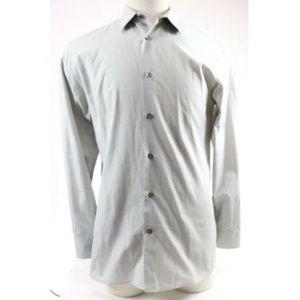 Banana Republic Men's Dress Shirt Size Medium Gray
